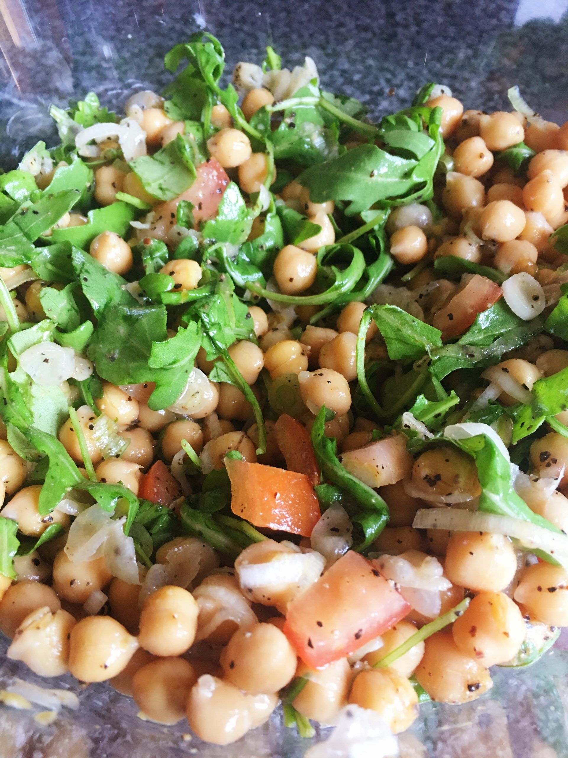 Chickpea & Rocket Salad