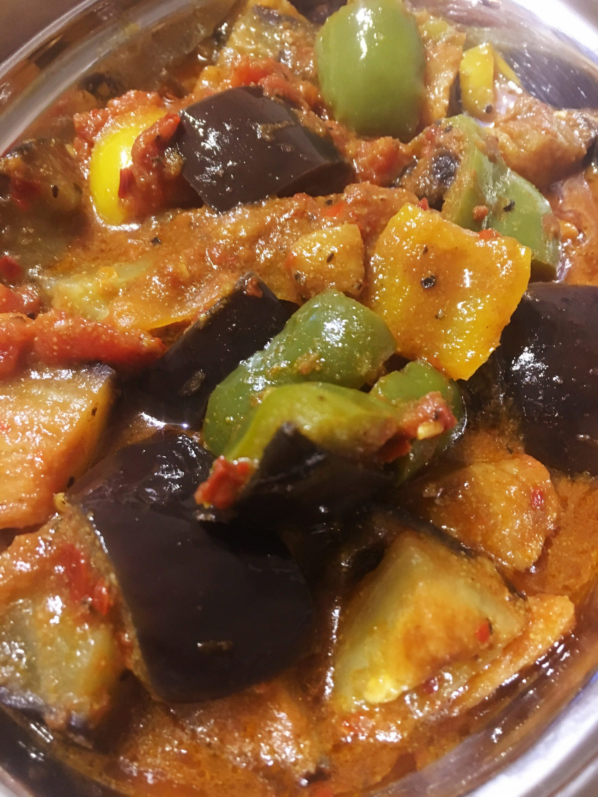 Spicy Aubergine Stew