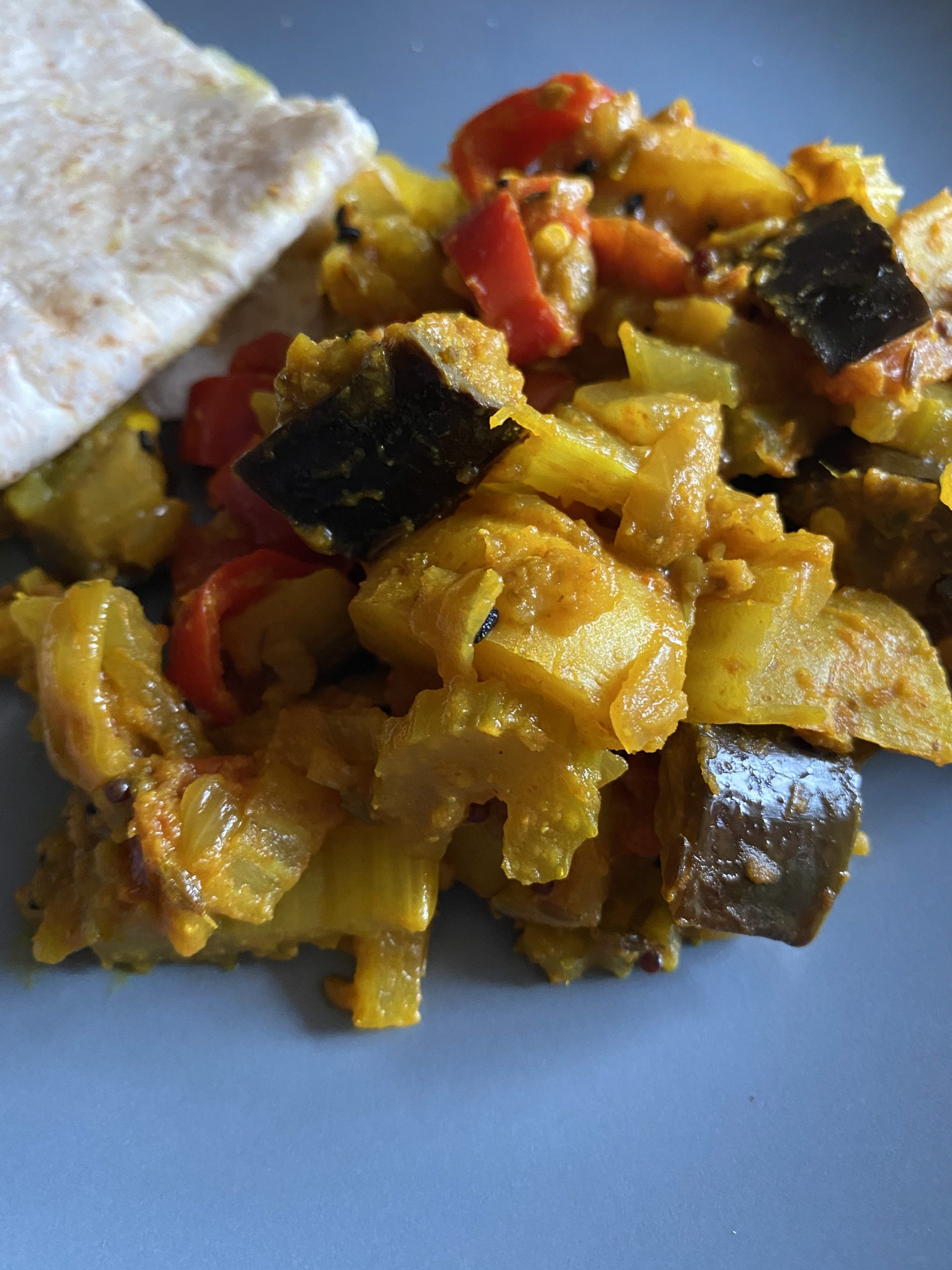 Vegetable Bhuna